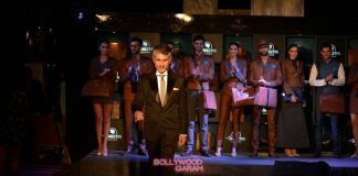 Celebrities witness designer Arjun Khanna's show for Singleton