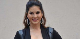 Sunny Leone promotes Mastizaade in style