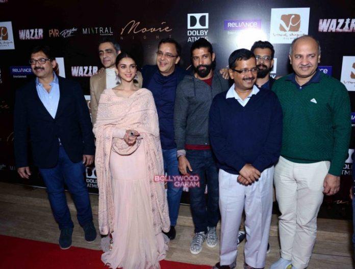 Wazir delhi screening7
