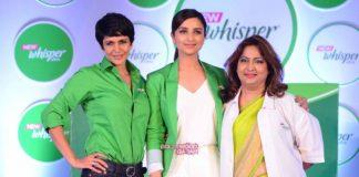 Parineeti Chopra talks about taboos at Whisper India event