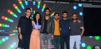 Sarah Jane Dias promotes Zubaan movie with Mozez Singh