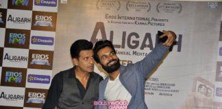 Manoj Bajpai and Rajkummar Rao promote Aligarh movie – Photos