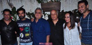 Celebrities at Aligarh screening