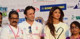 Shilpa Shetty and Ness Wadia support Annual Little Hearts Marathon 2016 for a cause