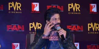 Shahrukh Khan launches title track of Fan in Delhi