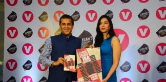 Chetan Bhagat launches Channel V's series Gumrah: End of Innocence in a book