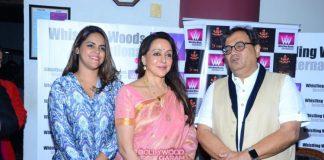 Hema Malini and Subahsh Ghai inaugurate 5th Veda event at Whistling Woods