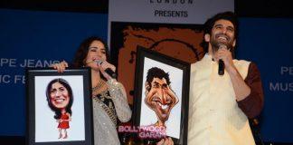Katrina Kaif and Aditya Roy Kapur promote Fitoor at Pepe Jeans music fest Kala Ghoda Festival