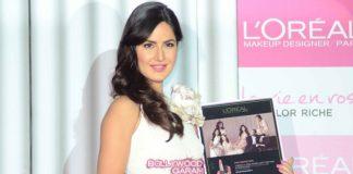 Katrina Kaif shines in white at L'Oreal event