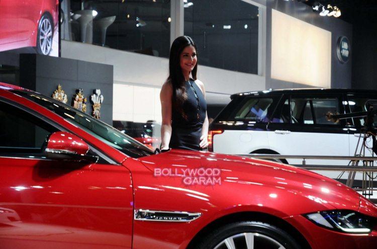 Katrina ranbir auto expo2