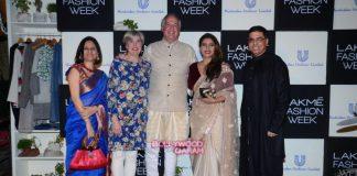 Kajol and Sidharth Malhotra grace Green Wardrobe show at Lakme Fashion Week press event