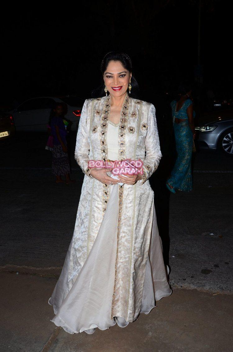 Shobha de daughter wedding2