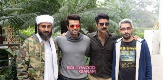 Manish Paul, Pradhuman Singh and Sikander Kher promote Tere Bin laden 2 in Delhi