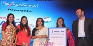 Vidya Balan graces YES! I am the CHANGE Social Film Award Ceremony