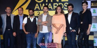 Anil Kapoor, Shahid Kapoor, Sonakshi Sinha and Kriti Sanon at Zee Cine Awards press meet – Photos