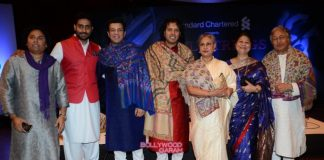 Abhishek Bachchan and Jaya Bachchan grace Amaan and Ayaan Ali Khan's concert