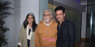 Pallavi Sharda and Esha Gupta grace Aligarh special screening