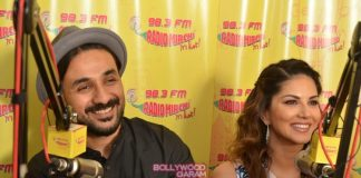 Sunny Leone and Vir Das in soup for promoting condoms in temple