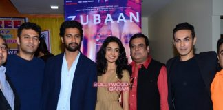 Sara Jane Dias and Vicky Kaushal promote Zubaan