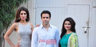Emraan Hashmi, Nargis Fakhri  and Prachi Desai shoot for biopic Azhar