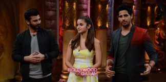 Alia Bhatt, Sidharth malhotra and Fawad Khan have fun promoting Kapoor and Sons on Comedy Nights Bachao