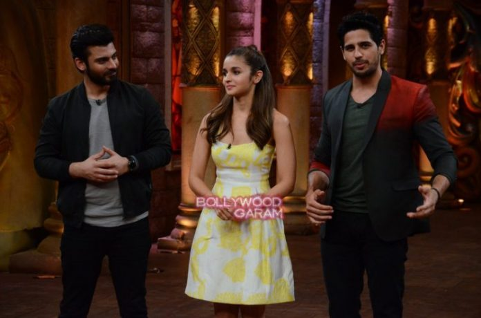 COmedy nights Kapoor sons9