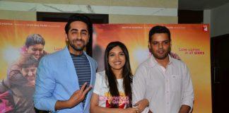 Ayushmann Khurrana and Bhumi Pednekar celebrate National Award success for Dum Lagake Haisha