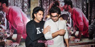 Ranveer Singh and Bhumi Pednekar watch Ki and Ka