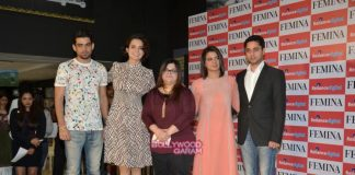 Kangana Ranaut launches Femina Cover with sister Rangoli – Photos