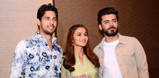 Alia Bhatt, Sidharth Malhotra and Fawad Khan promote Kapoor and Sons at Ahmedabad