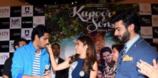 Fawad Khan, Sidharth Malhotra and Alia Bhatt promote Kapoor and Sons in Delhi – Photos