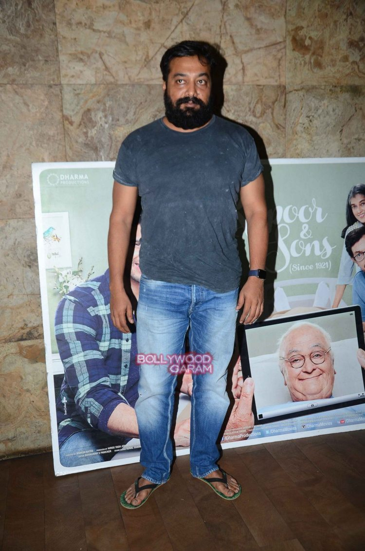 Kapoor and sons celebs screening1