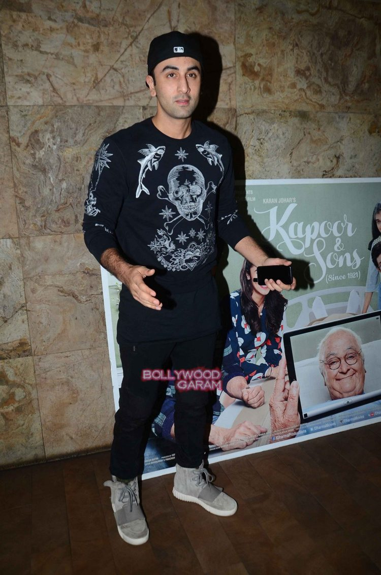 Kapoor and sons celebs screening11
