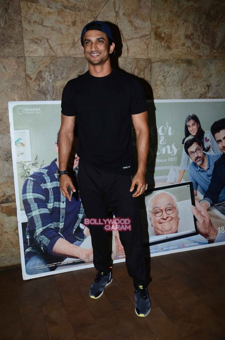Kapoor and sons celebs screening4