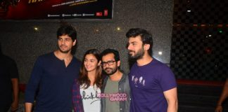 Sidharth Malhotra, Alia Bhatt and Fawad Khan promote Kapoor and Sons