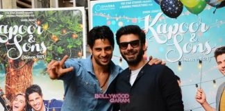 Sidharth Malhotra and Fawad Khan promote Kapoor and Sons