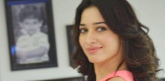 Tamannah Bhatia stuns at Telugu movie Oopri promotions