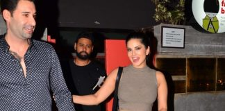 Sunny Leone on a dinner date with husband Daniel Weber