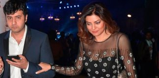 Sushmita Sen on a dinner date with boyfriend Ritik Basin