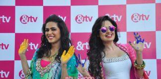 &TV celebrities shoot for Holi festival episode