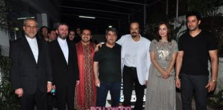 Dia Mirza and Ranjeet grace Taj Mahal screening