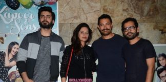 Ranbir Kapoor, Aamir Khan and others at Kapoor and Sons screening – Photos