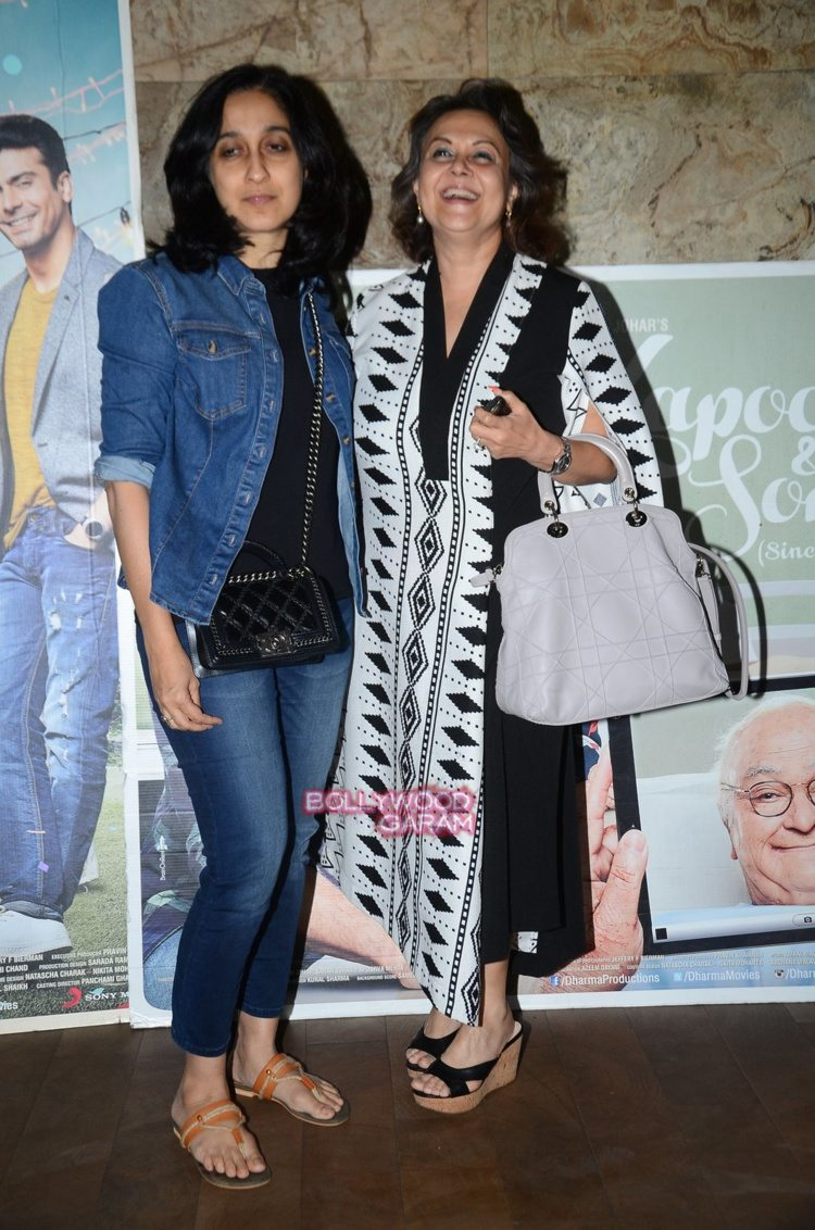 kapoor and sons screening4