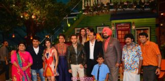 Emraan Hashmi, Prachi Desai and Lara Dutta promote Azhar on The Kapil Sharma Show