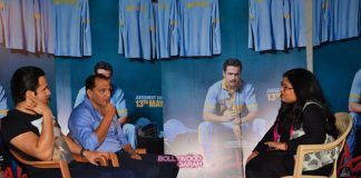 Emraan Hashmi and Mohammad Azharuddin promote Azhar movie