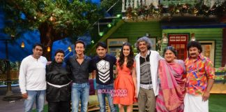 Tiger Shroff and Shraddha Kapoor promote Baaghi on Kapil Sharma's new show