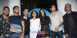 Sidharth Malhotra and Katrina Kaif at Baar Baar Dekho wrap up bash – Photos