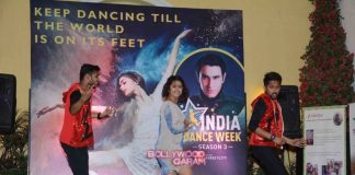 Rahul Roy, Avika Gor and Gaurav Gera at India Dance Week inaugural event