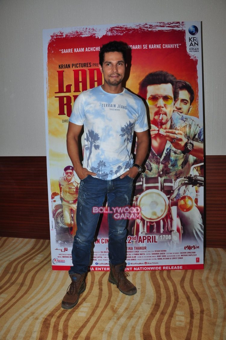 Laal rang promotions6