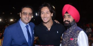 Ayushmann Khurrana and Tiger Shroff attend Punjab Icon Awards 2016
